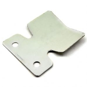 Small, stainless steel bumper protector